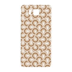 Retro Mirror Pattern Brown Samsung Galaxy Alpha Hardshell Back Case