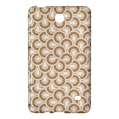 Retro Mirror Pattern Brown Samsung Galaxy Tab 4 (8 ) Hardshell Case