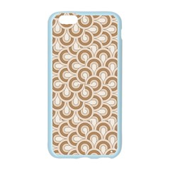 Retro Mirror Pattern Brown Apple Seamless iPhone 6 Case (Color)