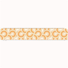 Retro Mirror Pattern Peach Small Bar Mats