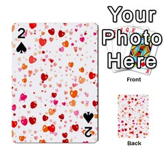 Heart 2014 0603 Playing Cards 54 Designs