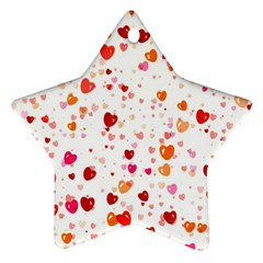 Heart 2014 0603 Star Ornament (two Sides)