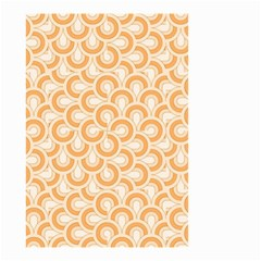 Retro Mirror Pattern Peach Small Garden Flag (two Sides)