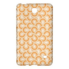 Retro Mirror Pattern Peach Samsung Galaxy Tab 4 (7 ) Hardshell Case