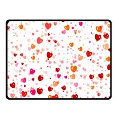 Heart 2014 0603 Double Sided Fleece Blanket (Small)