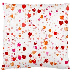 Heart 2014 0603 Large Flano Cushion Cases (one Side)