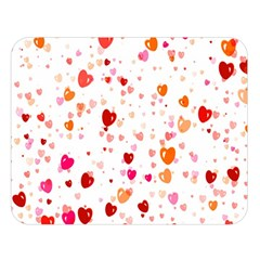 Heart 2014 0603 Double Sided Flano Blanket (Large)