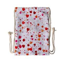 Heart 2014 0603 Drawstring Bag (Small)
