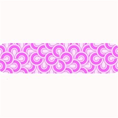 Retro Mirror Pattern Pink Large Bar Mats