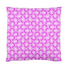 Retro Mirror Pattern Pink Standard Cushion Cases (two Sides)