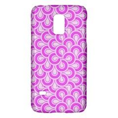 Retro Mirror Pattern Pink Galaxy S5 Mini