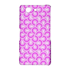 Retro Mirror Pattern Pink Sony Xperia Z3 Compact