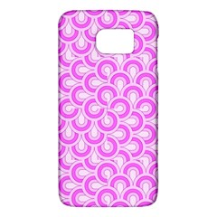 Retro Mirror Pattern Pink Galaxy S6