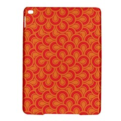 Retro Mirror Pattern Red iPad Air 2 Hardshell Cases