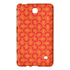 Retro Mirror Pattern Red Samsung Galaxy Tab 4 (7 ) Hardshell Case