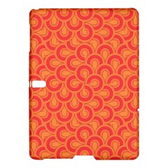 Retro Mirror Pattern Red Samsung Galaxy Tab S (10 5 ) Hardshell Case