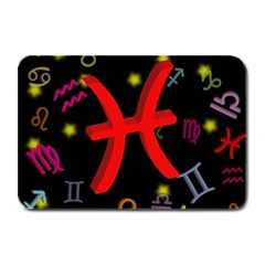 Pisces Floating Zodiac Sign Plate Mats