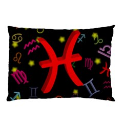 Pisces Floating Zodiac Sign Pillow Cases