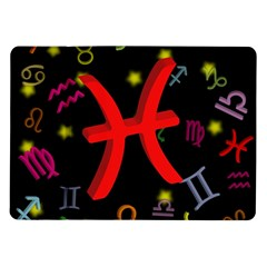 Pisces Floating Zodiac Sign Samsung Galaxy Tab 10.1  P7500 Flip Case