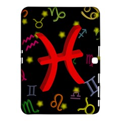 Pisces Floating Zodiac Sign Samsung Galaxy Tab 4 (10 1 ) Hardshell Case
