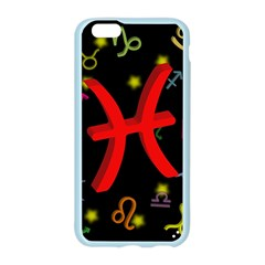 Pisces Floating Zodiac Sign Apple Seamless iPhone 6 Case (Color)