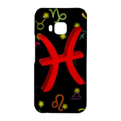 Pisces Floating Zodiac Sign HTC One M9 Hardshell Case