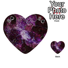 Space Like No 1 Playing Cards 54 (heart)