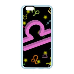Libra Floating Zodiac Sign Apple Seamless iPhone 6 Case (Color)
