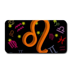 Leo Floating Zodiac Sign Medium Bar Mats