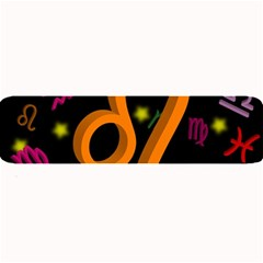 Leo Floating Zodiac Sign Large Bar Mats