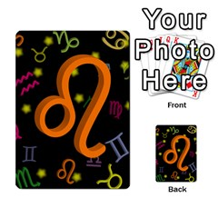 Leo Floating Zodiac Sign Multi-purpose Cards (Rectangle)