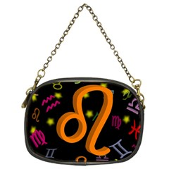 Leo Floating Zodiac Sign Chain Purses (Two Sides)
