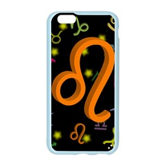 Leo Floating Zodiac Sign Apple Seamless iPhone 6 Case (Color)