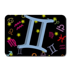 Gemini Floating Zodiac Sign Plate Mats