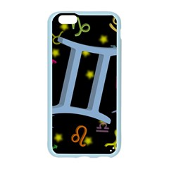 Gemini Floating Zodiac Sign Apple Seamless iPhone 6 Case (Color)
