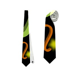 Capricorn Floating Zodiac Sign Neckties (Two Side)