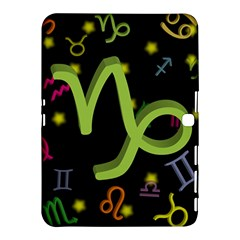 Capricorn Floating Zodiac Sign Samsung Galaxy Tab 4 (10.1 ) Hardshell Case