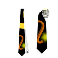 Cancer Floating Zodiac Sign Neckties (one Side)
