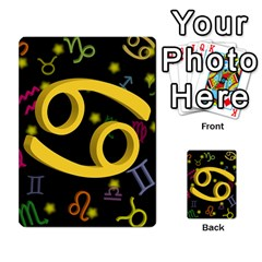 Cancer Floating Zodiac Sign Multi-purpose Cards (Rectangle)