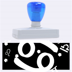 Cancer Floating Zodiac Sign Rubber Address Stamps (XL)