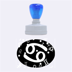 Cancer Floating Zodiac Sign Rubber Oval Stamps