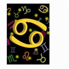 Cancer Floating Zodiac Sign Large Garden Flag (Two Sides)