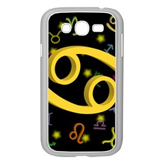 Cancer Floating Zodiac Sign Samsung Galaxy Grand DUOS I9082 Case (White)