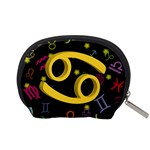 Cancer Floating Zodiac Sign Accessory Pouches (Small)  Back