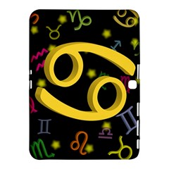 Cancer Floating Zodiac Sign Samsung Galaxy Tab 4 (10.1 ) Hardshell Case