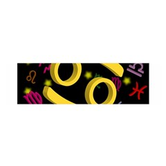 Cancer Floating Zodiac Sign Satin Scarf (Oblong)