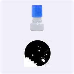 Space Like No.4 Rubber Round Stamps (Small)