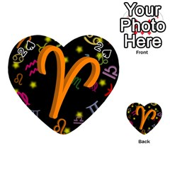 Aries Floating Zodiac Sign Playing Cards 54 (Heart)