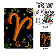 Aries Floating Zodiac Sign Multi-purpose Cards (Rectangle)