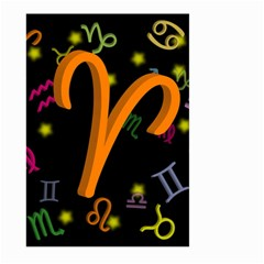 Aries Floating Zodiac Sign Large Garden Flag (Two Sides)